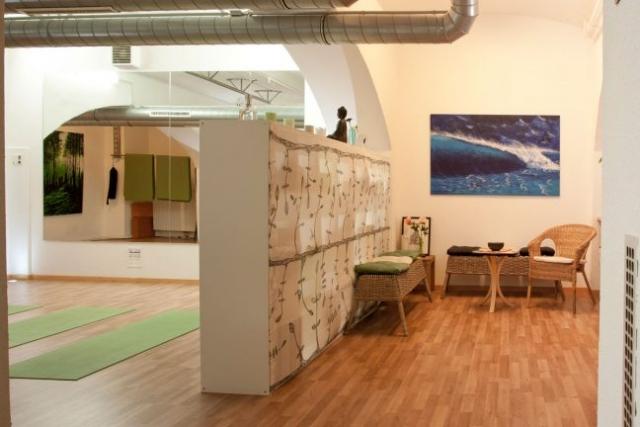 Studiobereich (Yoga, Pilates etc.) - Aufenthaltsbereich