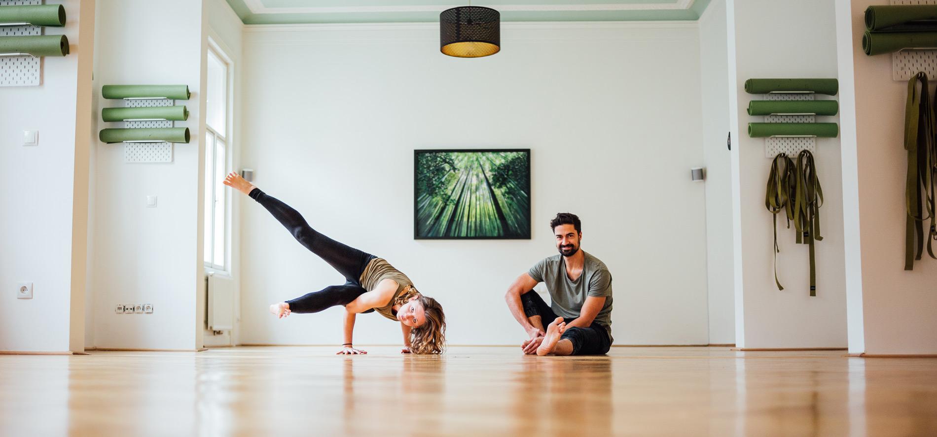 Willkommen bei Coming Hooomm - Deinem Studio für Yoga, Pilates, Nuad und mehr in 1020 Wien!